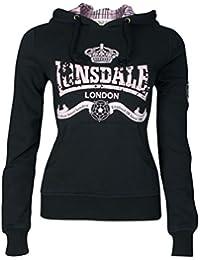Lonsdale Amber - Sweat-shirt à Capuche - Droit - Femme