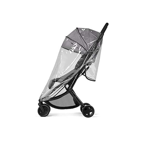 cbx ETU Ultra Compact Pushchair, Incl. Rain Cover and Travel Bag, from Birth to 15 kg, Smoky Anthracite CBX Etui jeans blue Item number: 518002497 Color: jeans blue 5