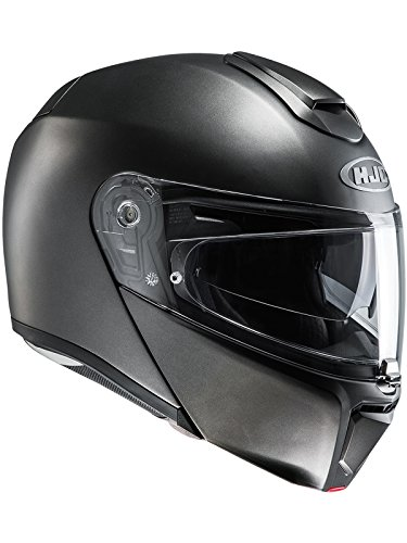 Preisvergleich Produktbild HJC Helmets Hjc Motorradhelm Rpha 90 Semi Flat Titanium (Medium,  Grau)