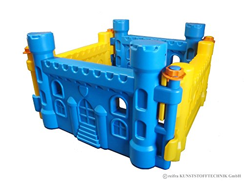 Spielburg blau/gelb