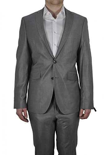 Michaelax-Fashion-Trade -  Abito  - Basic - Maniche lunghe  - Uomo Silber (13)