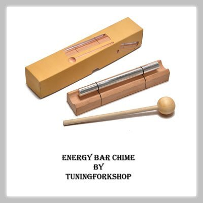 Sound Healing Energy Bar Chime Heart Chakra Tone F Free shipping by Tuningforkshop