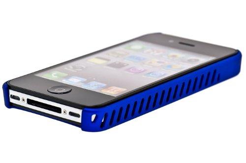 iFrogz Luxe Lean Housse pour iPhone 4G Fer Bleu