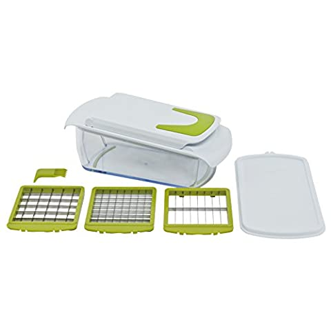 Multipurpose Vegetable Chopper with Storage Container. Also Chops, Slices & Dices Fruit and much