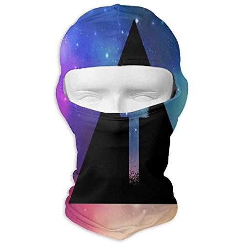 Wdskbg Balaclava Galaxy Tiger Full Face Masks Ski Mask Motorcycle Hood for Cycling Sports Snowboard Unisex18 (Galaxy Snowboard Handschuhe)