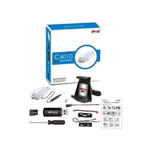 s-idee 01522 Wifi HD Kamera C4010 mit Tonaufzeichnung für Drohnen MJX X400 / X500 / X600 / X800 / X101 / T10 / T55 / T57 / T04 - 4