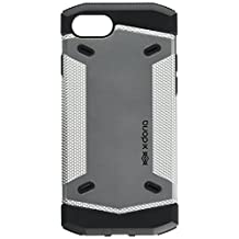 X-Doria Rumble Series - Drop Tested, Enhanced Grip Protective Case for Apple iPhone 7 - Silver