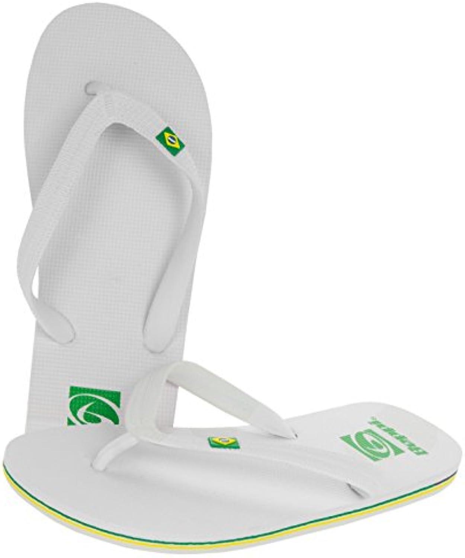 BEPPI Sandalias de Vestir de Material Sintético Para Hombre, Color Blanco, Talla 42 EU