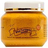 looms & weaves - Ayurvedic Natural Wild Turmeric Powder 100 Gram ([Curcuma Aromatica/Jangli Haldi/Kasthuri Manjal]