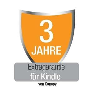Extragarantie [3 Jahre] mit Unfall- und Diebstahlschutz für den neuen Kindle, nur Deutschland