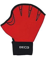 BECO Neoprenhandschuhe mit Fingeröffnung Aqua Fitness Schwimmhilfe Wasser Sport