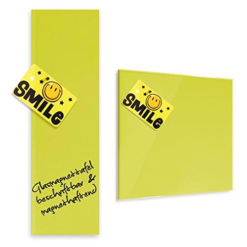 tableau-en-verre-master-of-boardsr-en-jaune-2-tailles-verre-de-securite-magnetique-fixation-murale-d