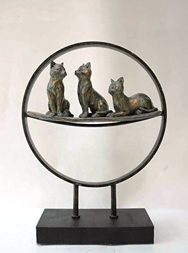 Neuheit Katze Friends Display Ornament Cat Lover Geschenk Interesse -
