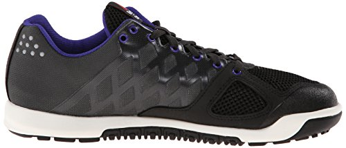 Reebok R Crossfit Nano 2.0 Trainingsschuh Black/Gravel/Chalk/Ultima Purple R8nQqAAT