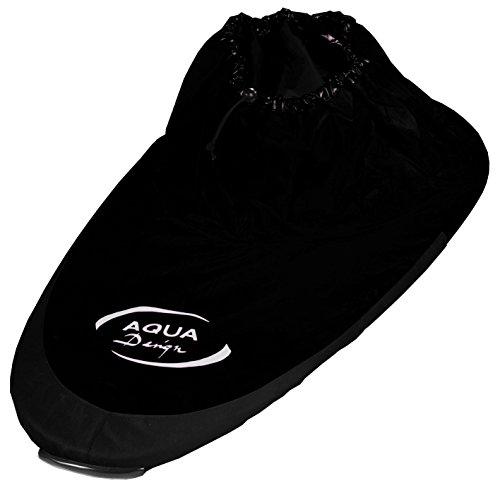 Aquadesign Java Hülle für Kanu, Einheitsgröße, verstellbar, Schwarz schwarz schwarz Taille unique réglable