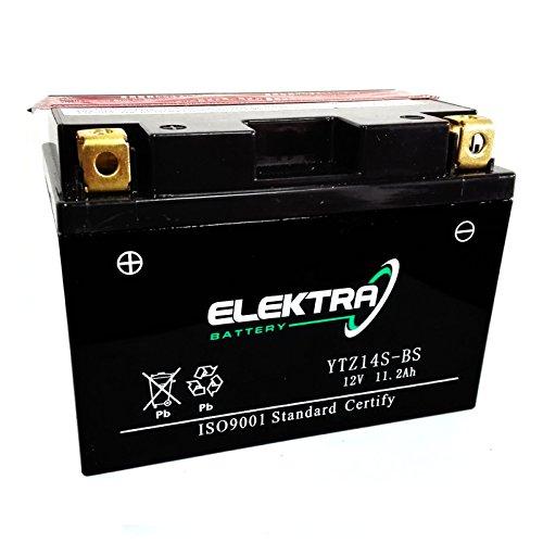 Batteria sigillata Elektra YTZ14S-BS 12 V 11,2 Ah 230 CCA acido incluso