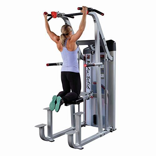 BODY-SOLID S2ACD Pro Club S2 Klimmzug Dipmaschine mit Gegengewicht