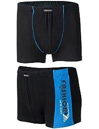 Tobeni 4-Pack Pantalons Boxers hommes dans le style rétro
