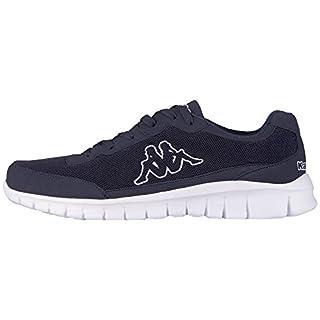 Kappa Unisex-Erwachsene Taro Sneaker, Blau (6710 Navy/White), 42 EU