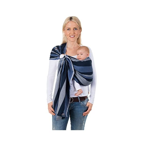 Hoppediz Ring Sling for Baby Carrying (Montreal) Hoppediz  1