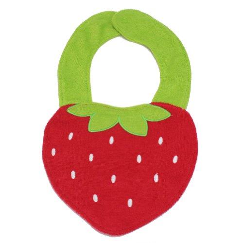 Baby Lätzchen Erdbeere, Baumwolle