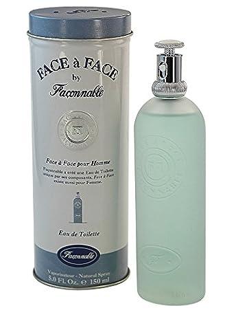Face a Face Homme POUR HOMME par Faconnable - 150 ml Eau de Toilette Vaporisateur