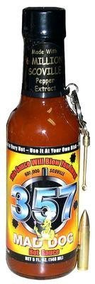 Mad Dog 357 Collector's Edition Hot Sauce with Bullet Spoon, 5 fl oz by The Great American Spice Company [Foods]