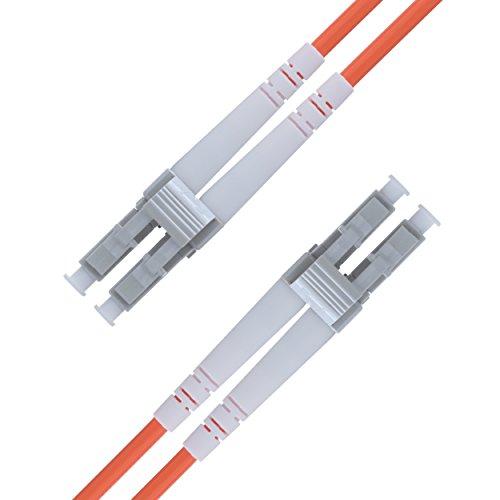 125-duplex-faser-jumper-kabel (LWL Patchkabel LC LC Multimode Duplex Glasfaser - 10 m LC/LC - 62,5/125 OM1 Faser (LSZH) - Patchkabel von Beyondtech - PureOptics Series)