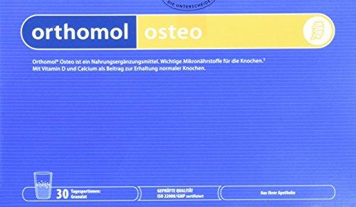 Orthomol osteo 30er Granulat - Nahrungsergänzungsmittel bei Osteoporose - Mikronährstoffe zur Unterstützung der Knochen