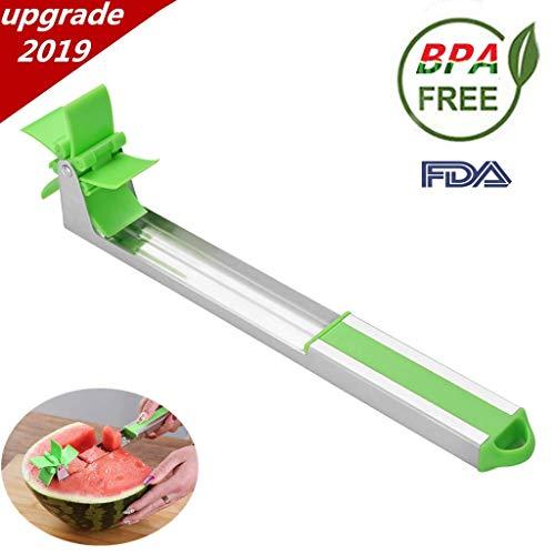 Vanuoda mulino a vento anguria affettatrice , taglia anguria multiuso cucina anguria affettatrice veloce e facile da usare, taglierina per il taglio della frutta