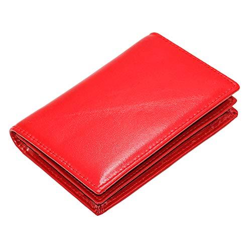 Zoom IMG-2 hibate portafogli uomo rosso red