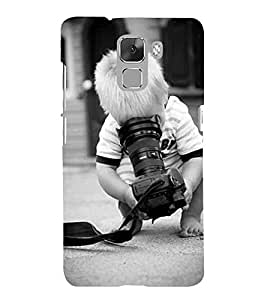 Vizagbeats boy with camera Back Case Cover for Huawei Honor 7