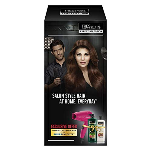 TRESemme Nourish & Replenish Shampoo 580ml & Conditioner 190ml Combo Pack + Philips Hair Dryer @ Rs.1080