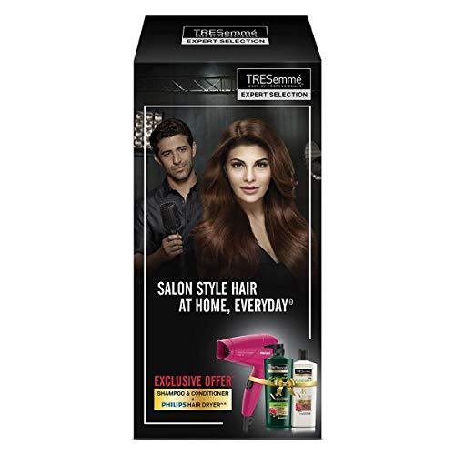 TRESemme Nourish & Replenish Shampoo 580ml & Conditioner 190ml Combo Pack + Philips Hair Dryer @ Rs.1080