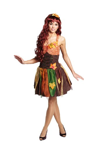 Sexy Kostüm Fee - Rubie's Karneval Damen Kostüm sexy Herbst Fee Hexe an Fasching Gr.42