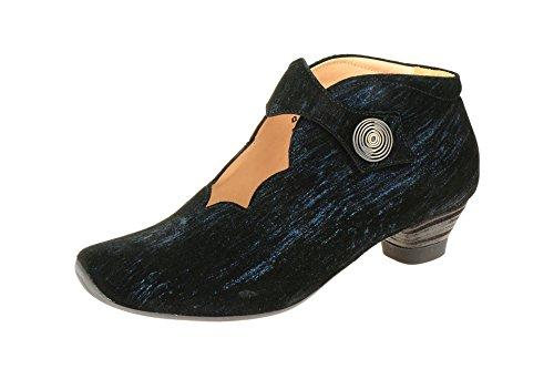 Think Damen Stiefeletten - elegante Stiefelette AIDA dunkel-blau