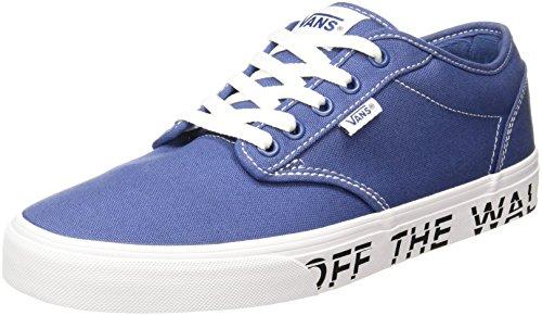 Blu 40.5 EU Vans Atwood Sneaker Uomo Printed Fox Scarpe jf9