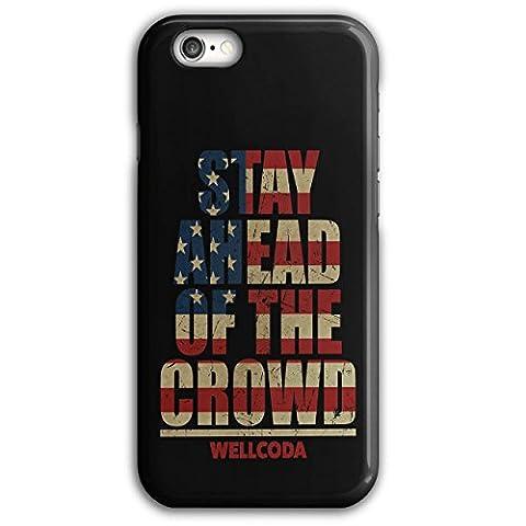 Bleibe voraus USA Wellcoda Motto Flagge iPhone 6 Plus / 6S Plus Hülle | Wellcoda