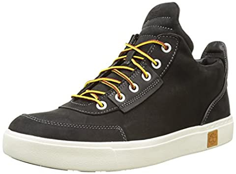 Timberland Men's Amherst High Top Chukkajet Black Tbl Forty Full Grain Chukka Boots, Jet Black Tbl Forty Full Grain, 8.5 UK