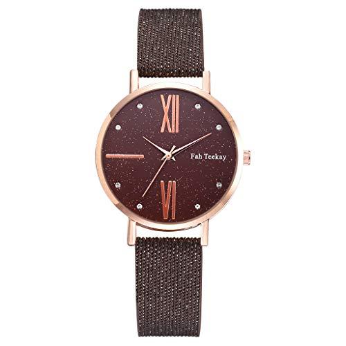 Uhren Damen Armbanduhr Edelstahl Uhren Sportuhr Quarz Stunde Handgelenk Analoge Uhren Casual Luxus Uhrenarmband Exquisit uhr ABsoar