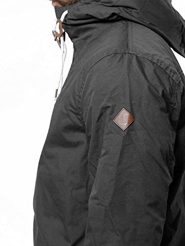 SOLID Herren Spunk Übergangsjacke Jacke mit Kapuze aus hochwertigem  Material Grau !
