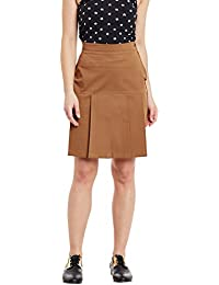 Rider Republic Women Solid Pencil Skirt