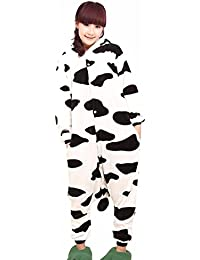 QIYUN.Z Unisexe Animal De Bande Dessinee Adulte Kigurumi Pyjama Doux Costume Cosplay De Vetements De Nuit Chaude