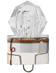 Forfar 1 PC LED Deep Drop Underwater Diamante en forma Pesca Luz intermitente Calamar Pescado Cebo Strobe Bait