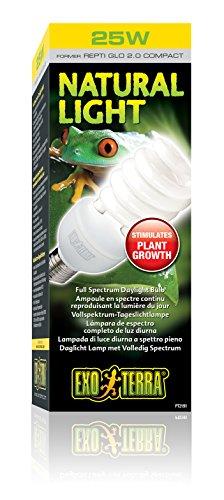 Exo Terra Natural Light Vollspektrum-Tageslichtlampe für Reptilien und Amphibien 25W - 2
