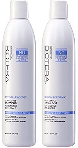 Naturelle Hypo-Allergenic Fragrance-Free Shampoo 15 oz (2 pack) by Naturelle