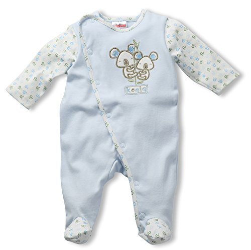 Schnizler - Interlock Schlafanzug Koalas - Haut de pyjama Mixte Bleu (Original 900)