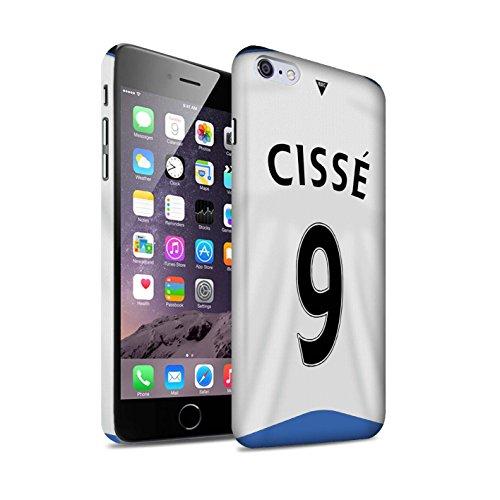 Offiziell Newcastle United FC Hülle / Matte Snap-On Case für Apple iPhone 6+/Plus 5.5 / Pack 29pcs Muster / NUFC Trikot Home 15/16 Kollektion Cissé