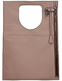 Handtasche Tom Ford Damen Leder Rosa und Silber L0342RGLTBHN Gold 3x40x57 cm