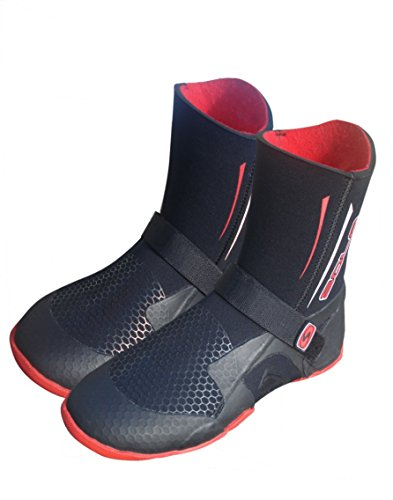 Sola Stivali Power in neoprene con spessore dai 5 mm e punta arrotondata nero nero Size EU 41/UK 7